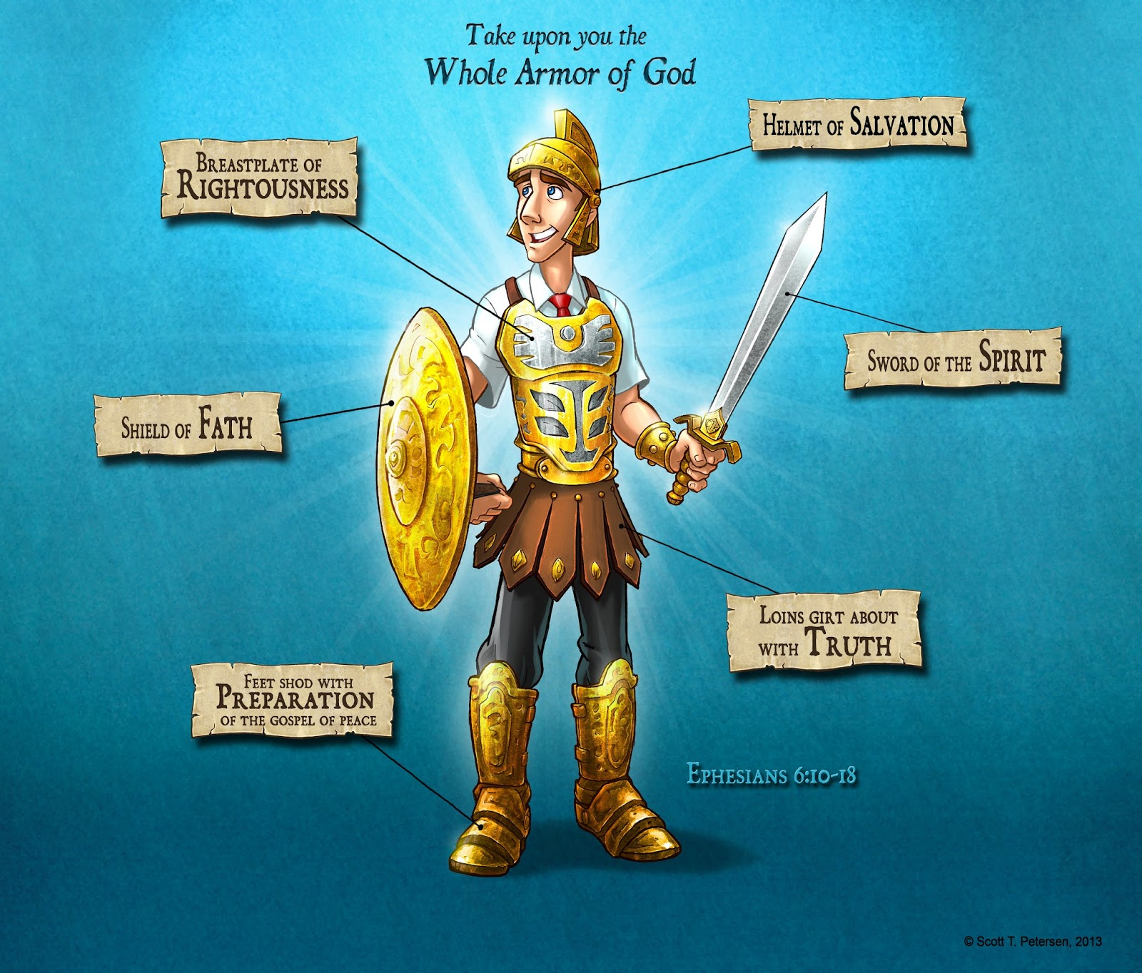Put On Your Armor of God NOW!! - Encouragement and Poetry